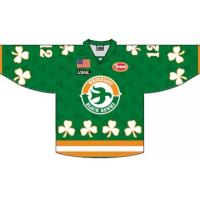 Black Hawks St. Patrick's Day Jerseys