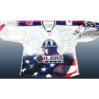 Oilers Military Night Jersey
