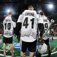 Mammoth 'Lacrosse out Cancer' Jerseys