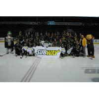 London Knights and West London Minor Novice Hawks