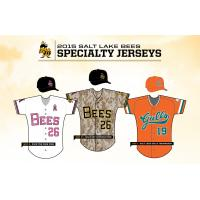 Salt Lake Bees Specialty Jerseys