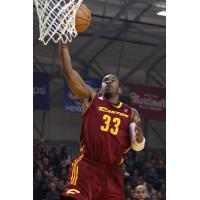 Brandon Paul of the Canton Charge