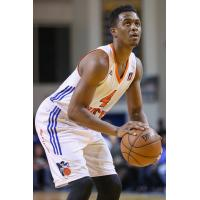 Doron Lamb of the Westchester Knicks