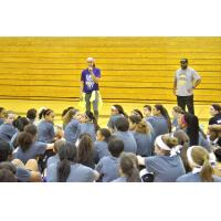 Skylar Diggins Speaks to Students