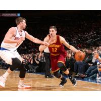 Joe Harris with the Cleveland Cavaliers