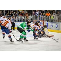 Trask Zobak of the Peoria Rivermen vs. Louisiana IceGators