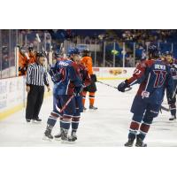 Tulsa Oilers Celebrate vs. Missouri Mavericks