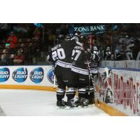 Utah Grizzlies Celebrate vs. Alaska Aces