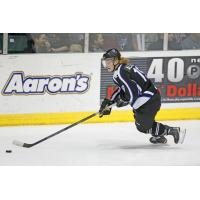 Forward Wade Allison of the Tri-City Storm