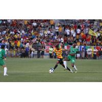 Fort Lauderdale Strikers Leo Moura vs. New York Cosmos Marcos Senna