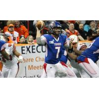 Quarterback Danny Southwick with the Portland Thunder