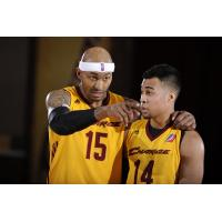 James Singleton and Stephen Holt of the Canton Charge