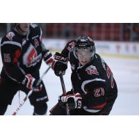 Brett Howden of the Moose Jaw Warriors