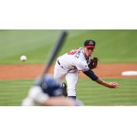 Gwinnett Braves Pitcher Mike Foltynewicz