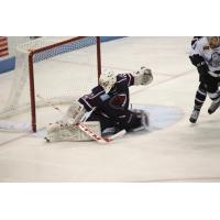 South Carolina Stingrays Goaltender Jeff Jakaitis vs. Evansville IceMen