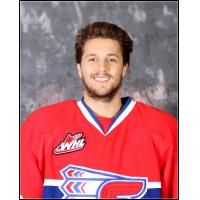 Forward Liam Stewart with the Spokane Chiefs