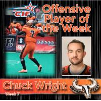 Chuck Wright of the Omaha Beef