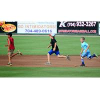 Kids Run the Bases with the Kannapolis Intimidators
