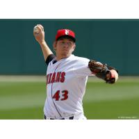 Indianapolis Indians Pitcher Adrian Sampson