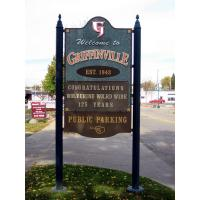 Griffinville, Mich. Sign