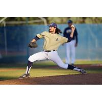 Pitcher Mack Boone of Menlo College