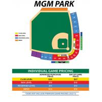 MGM Park Seating Chart