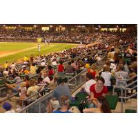 The Crowd at a Gary South Shore RailCats Game
