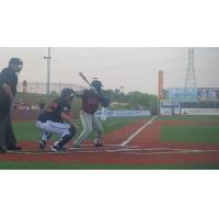 Ronnie Richardson Batting for the Evansville Otters