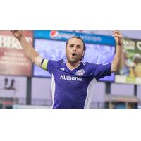 Louisville City FC Forward Matt Fondy