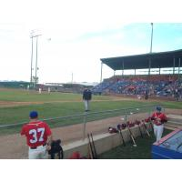 Amarillo ThunderHeads iin Home Opener vs. St. Paul Saints