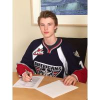 Tri-City Americans First Round Pick Carson Focht