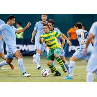 Tampa Bay Rowdies in Action