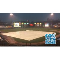 Rochester's Frontier Field in the Rain
