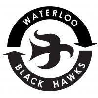 Waterloo Black Hawks Logo