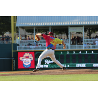 Frisco RoughRiders Pitcher Jake Thompson