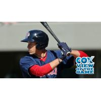 Garin Cecchini of the Pawtucket Red Sox