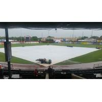 Tarp on Bosse Field, Home of the Evansville Otters