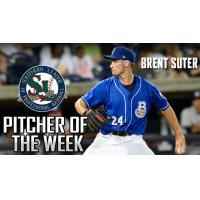 Brent Suter of the Biloxi Shuckers