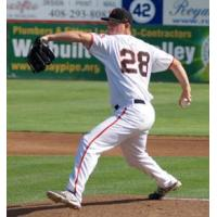 San Jose Giants Pitcher Martin Agosta