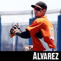 Dariel Alvarez of the Norfolk Tides