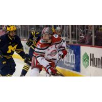 Forward Tanner Fritz with Ohio State University