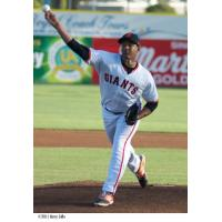 San Jose Giants Pitcher Keury Mella