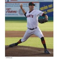 San Jose Giants Pitcher Tyler Beede