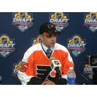Sioux Falls Stampede Forward Cooper Marody at the NHL Draft