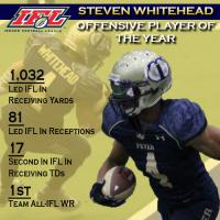 IFL Offensive Player of the Year Steven Whitehead