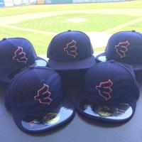 Everett AquaSox Stars & Stripes Caps