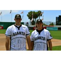 San Jose Giants Star Wars Jerseys