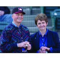 Altoona Curve Owners Bob and Joan Lozinak