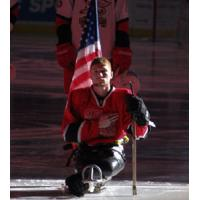Forward Robert Thrailkill Jr. from the Grand Rapids Sled Wings