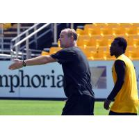Charleston Battery Coach Mike Anhaeuser